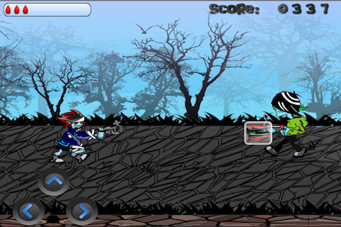 Screenshot iNight Warrior Lite