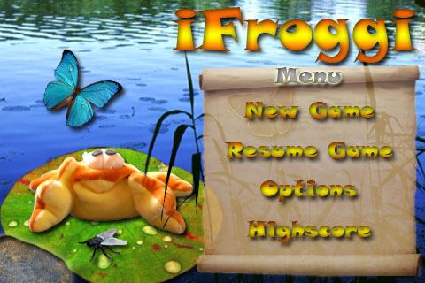 Screenshot iFroggi Free