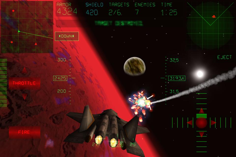 Screenshot Fractal Combat